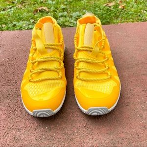 ADIDAS by Stella McCartney yellow sneaker size 5.5